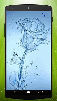 Ice Flower Live Wallpaper poster