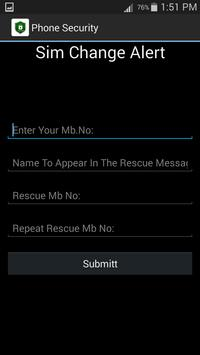 Phone Security screenshot 1