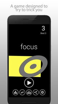 Focus - Color & Shape poster