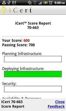 iCert Practice Ex CCNP TSHOOT apk screenshot