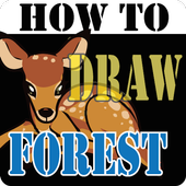 HowToDraw Forest icon