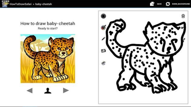 HowToDraw Safari apk screenshot