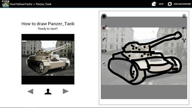 HowToDraw Tanks screenshot 8