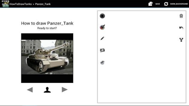 HowToDraw Tanks screenshot 1