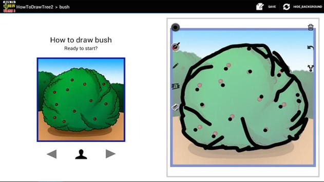 HowToDraw Tree2 apk screenshot