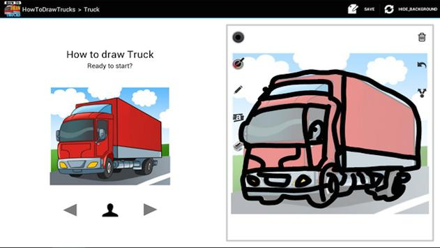 HowToDraw Trucks poster