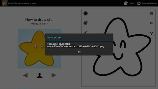 HowToDraw Cartoon apk screenshot