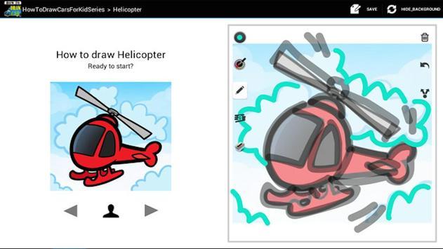 HowToDraw CarsForKid screenshot 3