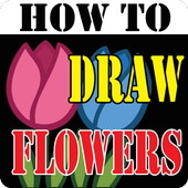 HowToDraw flowers icon