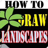 HowToDraw landscapes icon