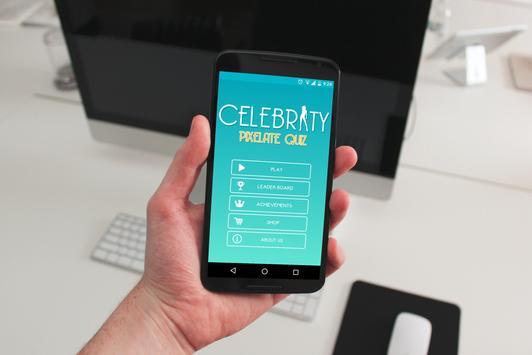 Pixelate Celebrity Quiz poster