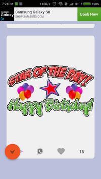 Happy Birthday GIF ecard photo frame screenshot 4
