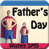 Father`s Day Wishes GIF icon