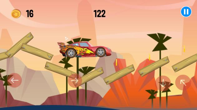 Mcqueen Lightning Race apk screenshot