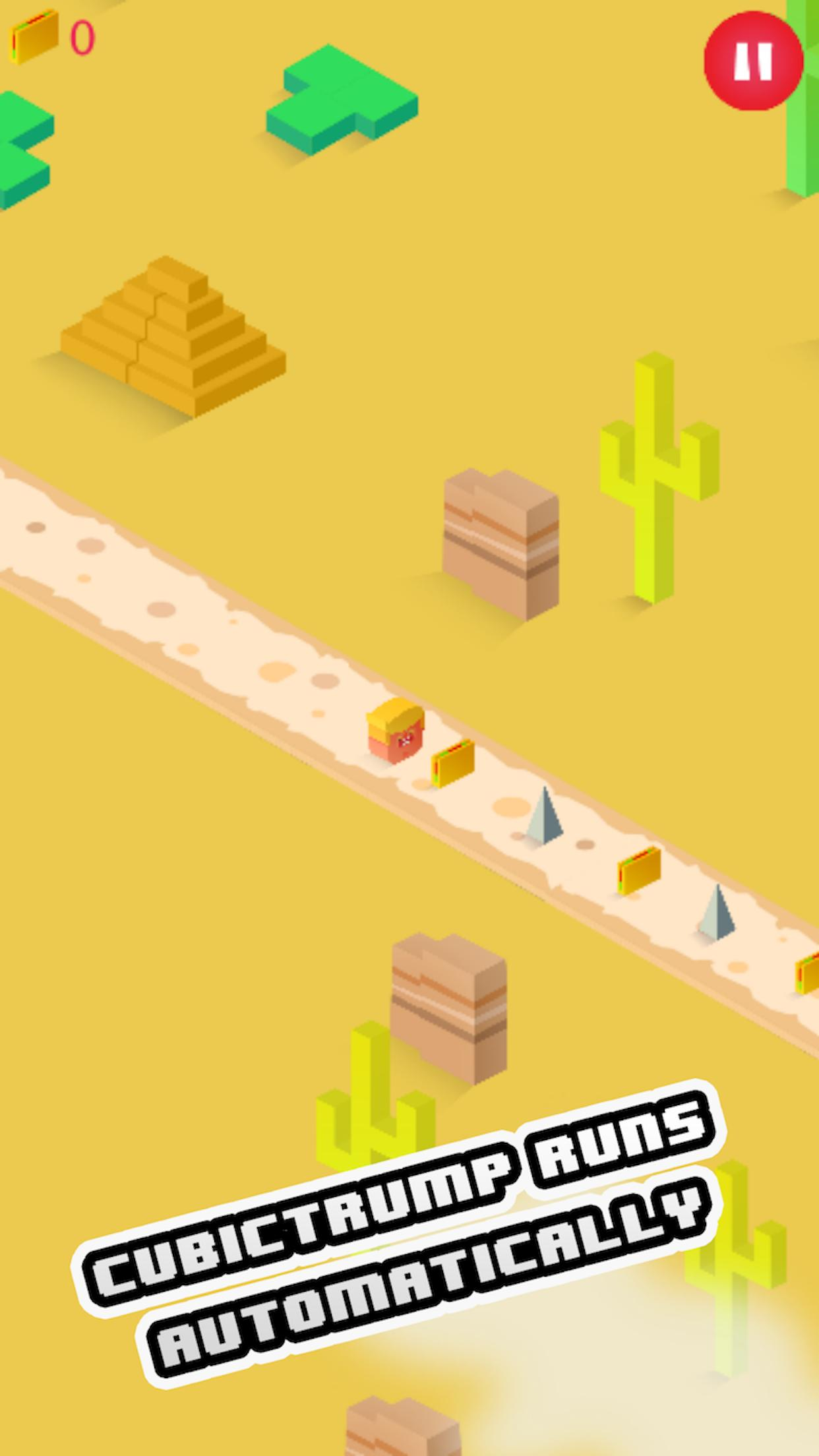 Cubic Trump: Build The Wall 🌮 3