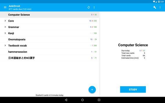 AnkiDroid screenshot 8