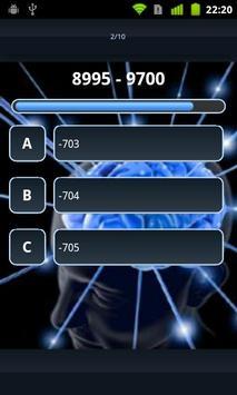 Calculo - Mental Calculation screenshot 2