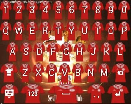 Icon Sevilla Keyboard poster