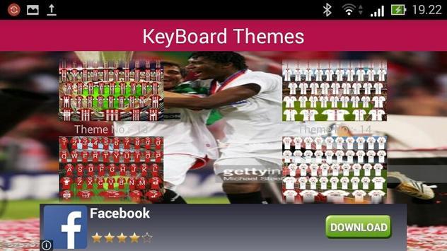 Icon Sevilla Keyboard apk screenshot