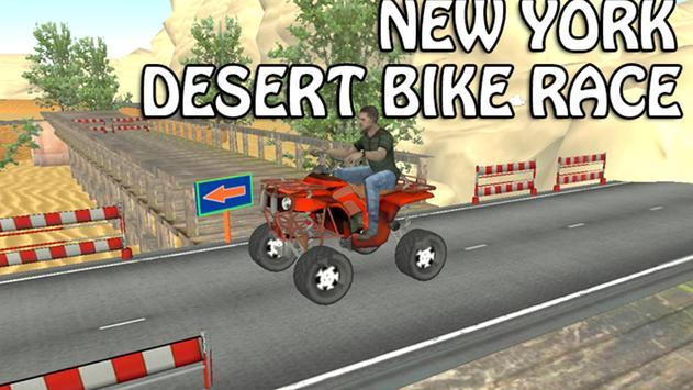 New York Desert Bike Race poster