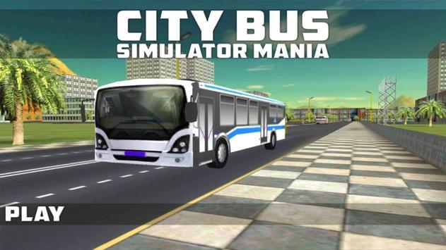City Bus Simulator Mania poster