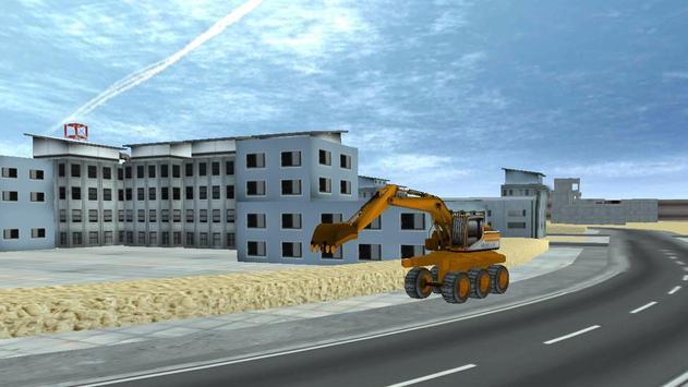 City Excavator Construction apk screenshot