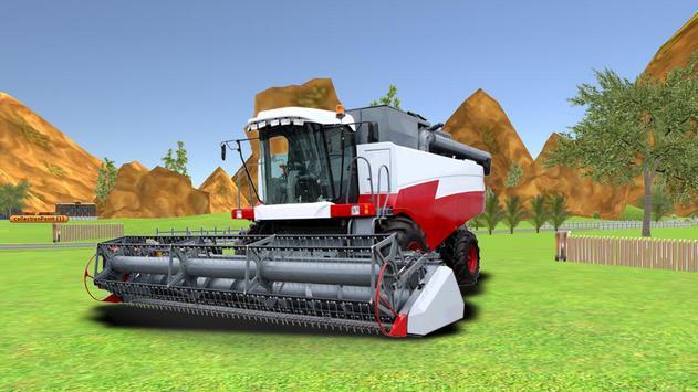 Combine Harvester Forage Plow apk screenshot