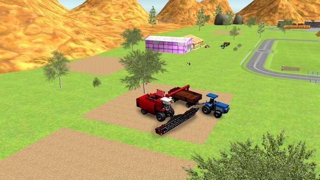 Combine Harvester Forage Plow screenshot 3