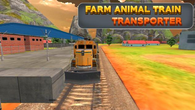 Farm Animal Train Transporter poster