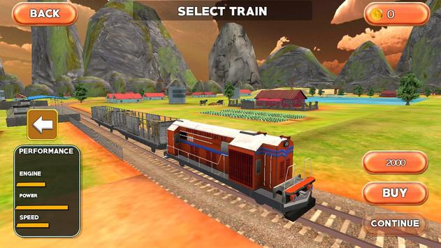Farm Animal Train Transporter apk screenshot