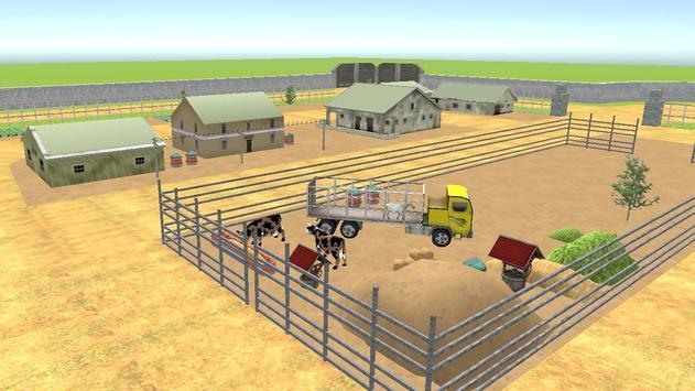 Farm Animal Transport 2017 screenshot 6