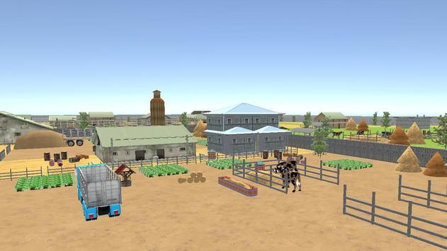 Farm Animal Transport 2017 screenshot 14
