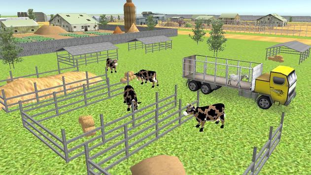 Farm Animal Transport 2017 screenshot 2
