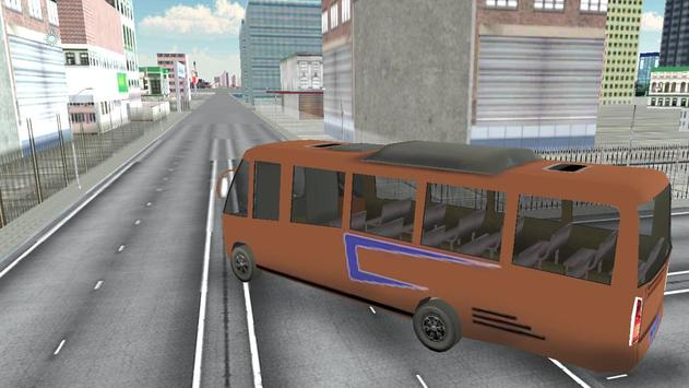 Passenger Bus Parking 2017 screenshot 4