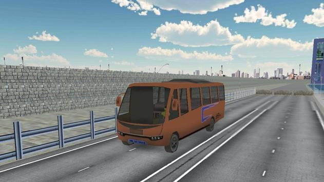 Passenger Bus Parking 2017 screenshot 1