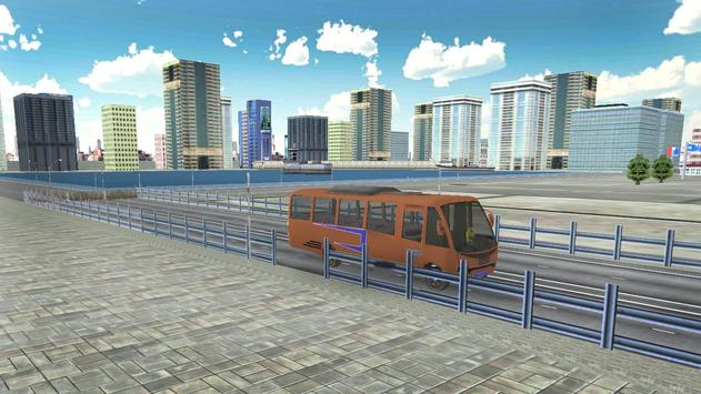 Passenger Bus Parking 2017 screenshot 2
