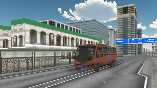 Passenger Bus Parking 2017 screenshot 3