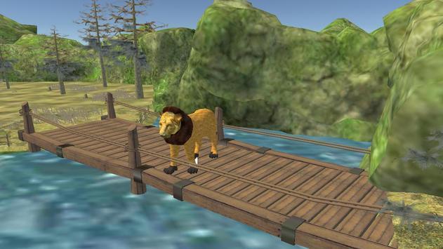 Wild Lion Attack 3D apk screenshot