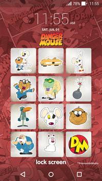 Danger Mouse Lock Screen apk screenshot