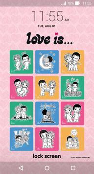 Love Is... Lock Screen apk screenshot