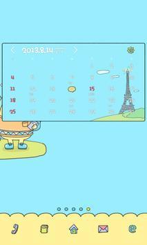 외계인 도돌캘린더 테마 apk screenshot