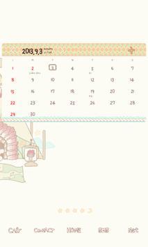 소녀(인디언) 도돌캘린더 테마 apk screenshot