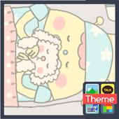 외계인(잠) 도돌캘린더 테마 icon