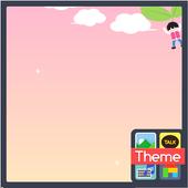 드리밍차일드 낙하산 도돌캘린더 테마 icon