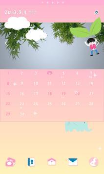 드리밍차일드 낙하산 도돌캘린더 테마 poster
