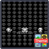 I skull icon