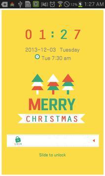 Christmas go locker theme poster