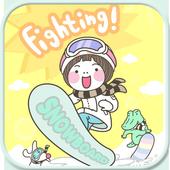 Snowboard go locker theme icon