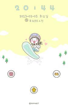 Snowboard go locker theme screenshot 1