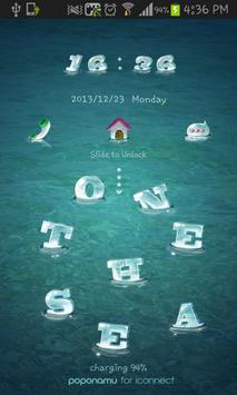 on the sea go locker theme poster